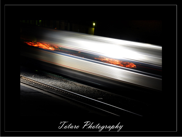 On The Rail at Night