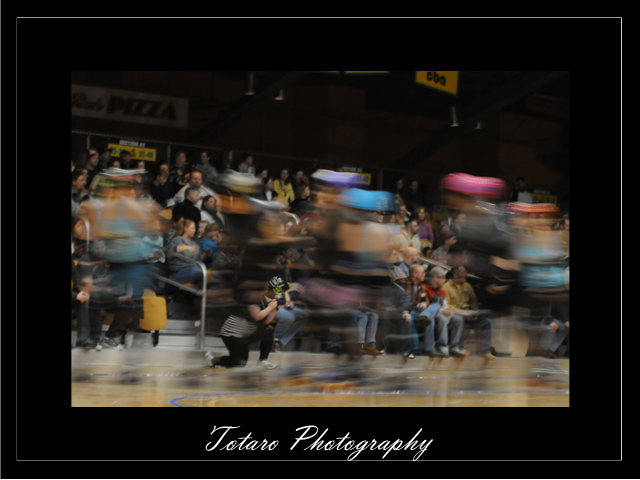 Roller Derby in Motion