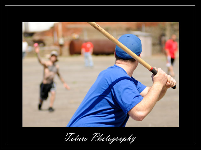 Troy Stickball Batter