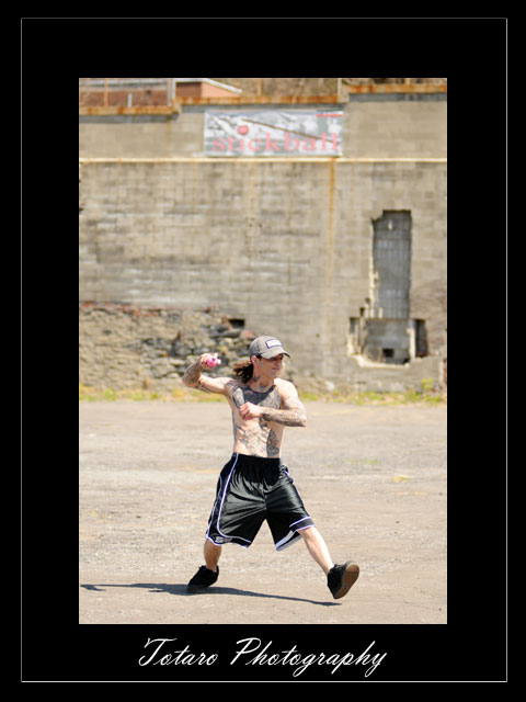 Troy Stickball Pitcher